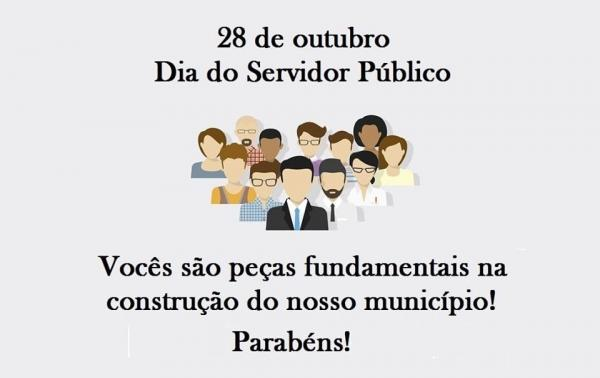 28 de outubro é Dia do Sevidor  Público