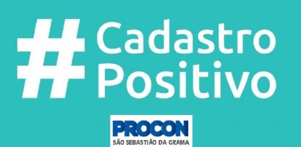 Informativo Procon  sobre Cadastro Positivo