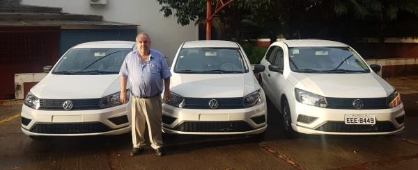 Departamento Municipal de Saúde de Grama recebe 3 veículos novos