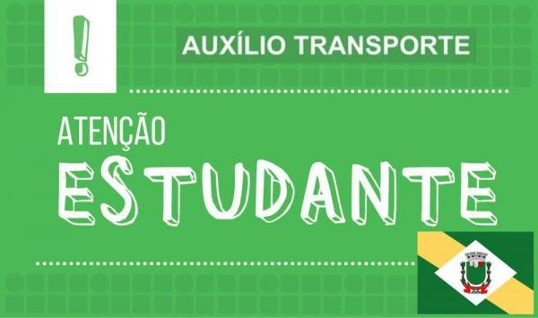 CADASTRO PARA AUXÍLIO TRANSPORTE ESTUDANTES 2020