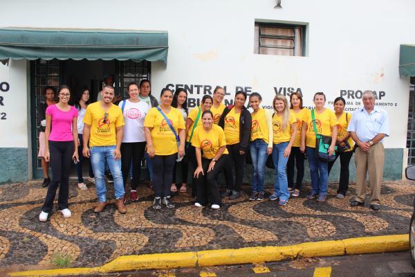 CAMPANHA DE CONSCIENTIZAÇÃO E ARRASTÃO DA DENGUE ESTÃO SENDO REALIZADAS NO MUNICÍPIO