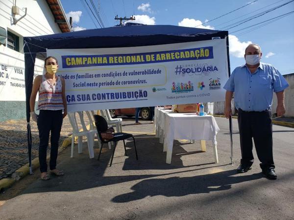 A Campanha Regional de Arrecadação foi realizada no nosso município