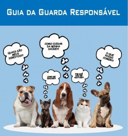 Guia  da Guarda Responsável de cães e gatos é disponibilizado ONLINE