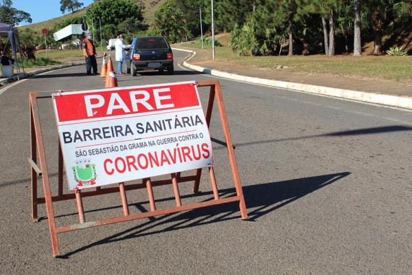 NOVO FUNCIONAMENTO DA BARREIRA SANITÁRIA
