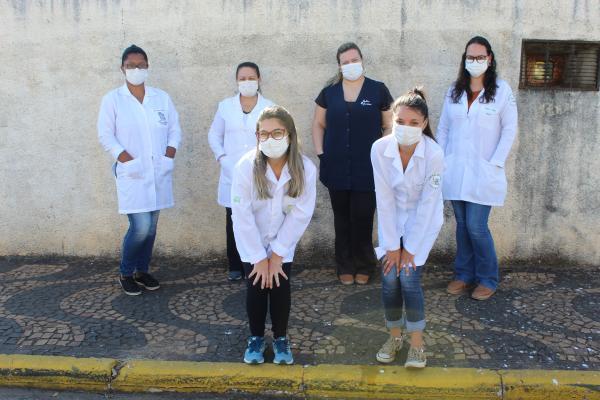 Vigilância Sanitária e estágiárias de  Saúde da Prefeitura realizaram ação de orientação e conscientização à população