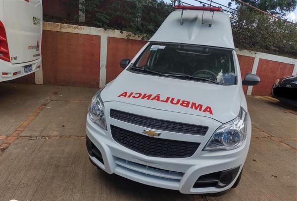 Mais uma nova ambulância para a Frota da Saúde