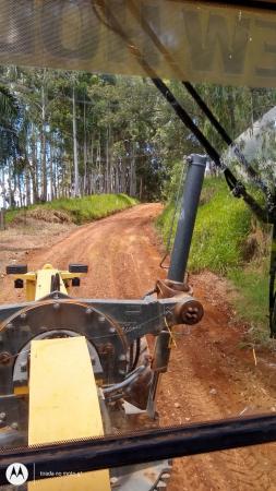 Manutenção nas estradas rurais