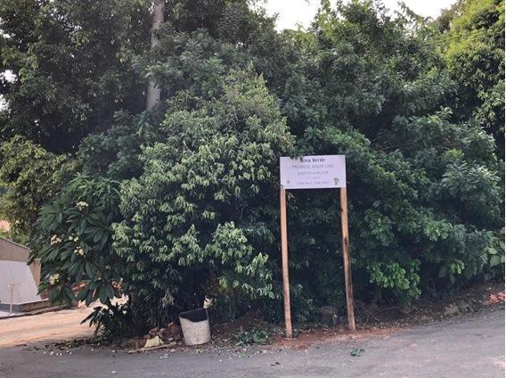 Prefeitura realiza demarcação de área verde