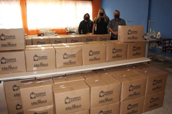 Fundo Social recebe alimentos