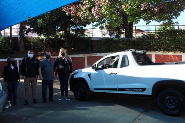 Prefeitura adquire veículo para o Fundo Social