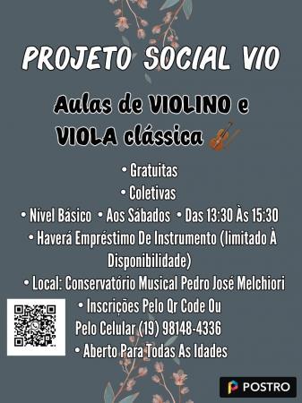Projeto Social VIO